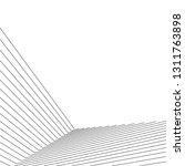 architecture geometric... | Shutterstock .eps vector #1311763898