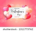 illustration off valentine day... | Shutterstock .eps vector #1311773762