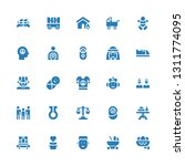family icon set. collection of... | Shutterstock .eps vector #1311774095