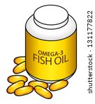 A Bottle And Capsules Of Omega...