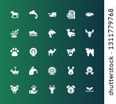 mammal icon set. collection of...   Shutterstock .eps vector #1311779768