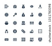 investment icon set. collection ... | Shutterstock .eps vector #1311783398