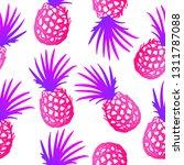 modern bright pink blue purple... | Shutterstock .eps vector #1311787088