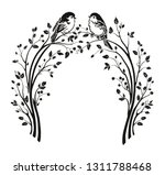 beautiful wedding arch with...   Shutterstock .eps vector #1311788468
