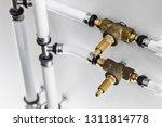ceramic metal pipes  couplings... | Shutterstock . vector #1311814778