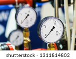 pressure gauge for measuring... | Shutterstock . vector #1311814802