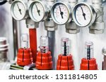 fittings and valve  pipes and... | Shutterstock . vector #1311814805