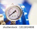 pressure gauge for measuring... | Shutterstock . vector #1311814808
