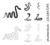 vector illustration of mammal...   Shutterstock .eps vector #1311847295
