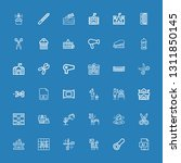 icons line illustrator ... | Shutterstock .eps vector #1311850145