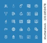 editable 25 www icons for web...   Shutterstock .eps vector #1311853478