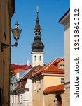 tallinn. estonia. the streets... | Shutterstock . vector #1311861512