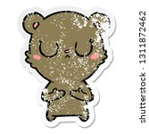 distressed sticker of a... | Shutterstock .eps vector #1311872462