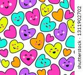 cute childish seamless pattern... | Shutterstock . vector #1311902702