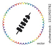 shish kebab icon  web design... | Shutterstock .eps vector #1311903782