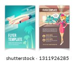 airline company  travel agency... | Shutterstock .eps vector #1311926285