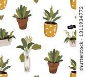 floral pattern. pretty flowers... | Shutterstock .eps vector #1311934772