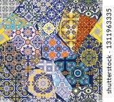 antique azulejos tiles... | Shutterstock .eps vector #1311963335