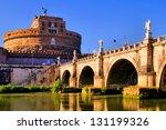 Castel Sant'angelo And Bridge...