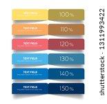 table  chart  schedule design... | Shutterstock .eps vector #1311993422