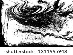 black and white liquid marbled... | Shutterstock .eps vector #1311995948