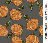 onion seamless pattern.vector...   Shutterstock .eps vector #1311998408