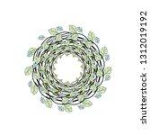 nest of branches | Shutterstock .eps vector #1312019192