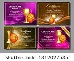 basketball game certificate...