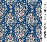 seamless beautiful pattern... | Shutterstock . vector #1312088618