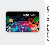 credit cards. with inspiration... | Shutterstock .eps vector #1312098998