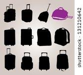 bag collection vector 0058   Shutterstock .eps vector #131210642