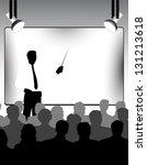 presentation | Shutterstock .eps vector #131213618