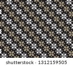 seamless decorative vintage... | Shutterstock .eps vector #1312159505