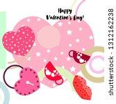 valentine's day  mug  lock ...   Shutterstock .eps vector #1312162238