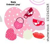 valentine's day  mug  lock ...   Shutterstock .eps vector #1312162265