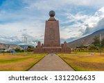 quito  ecuador   november 5 ... | Shutterstock . vector #1312206635