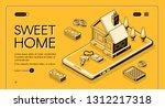 real estate agency service... | Shutterstock . vector #1312217318