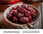 dried red date or chinese... | Shutterstock . vector #1312223315