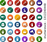 color back flat icon set  ... | Shutterstock .eps vector #1312240448