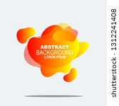 modern set of colorful elements ... | Shutterstock .eps vector #1312241408