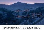 La Plagne Ski Resort In French...