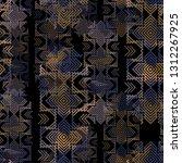 seamless pattern navajo design. ... | Shutterstock . vector #1312267925