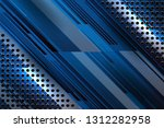 blue color abstract background... | Shutterstock .eps vector #1312282958