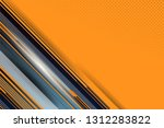 orange color abstract... | Shutterstock .eps vector #1312283822