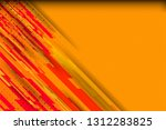 orange color abstract... | Shutterstock .eps vector #1312283825