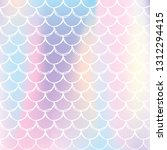 holographic scale background... | Shutterstock .eps vector #1312294415