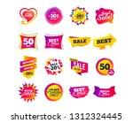 sale banner templates design....   Shutterstock .eps vector #1312324445