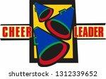 retro 1990's minimalistic... | Shutterstock .eps vector #1312339652