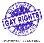 gay rights stamp seal watermark ... | Shutterstock .eps vector #1312351832