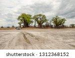 nxai pan n.p.  botswana   circa ... | Shutterstock . vector #1312368152